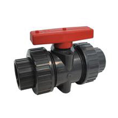 ITUV200TE - 2-inch SCH 80 PVC True Union Ball Valve, Threaded