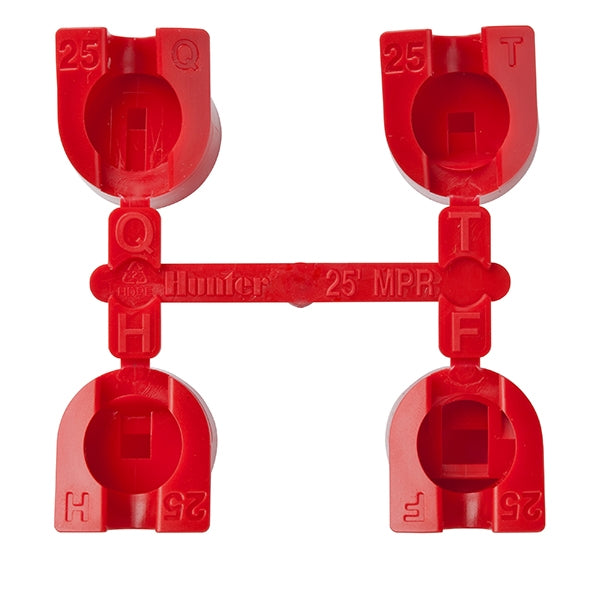 Hunter - MPR25 - 25 ft. Red Rotor Nozzles Q, T, H, F
