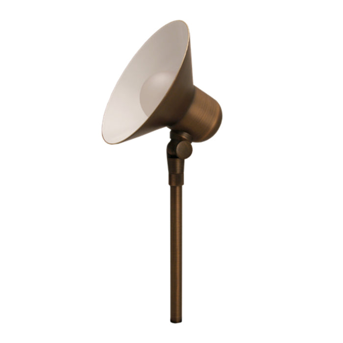 Unique - MONA-NL - Monarch Area Light Brass Housing Weathered Brass No Lamp No Lamp