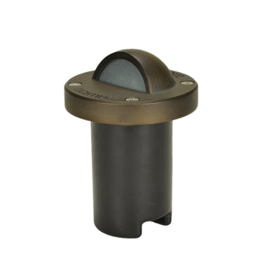 Unique - NOVAE-NL - Nova Eyelid In-Ground Light Brass Housing Weathered Brass No Lamp 25 ft Lead