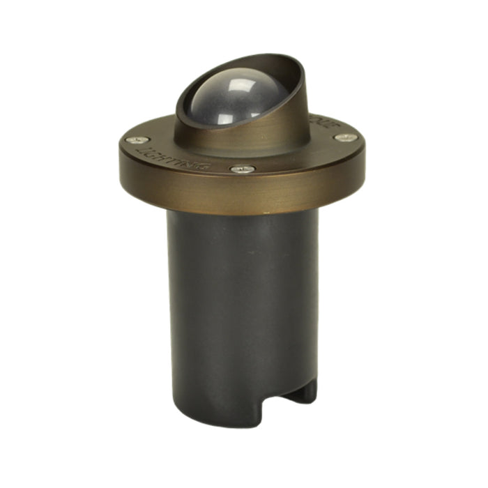 Unique - NOVAS-NL - Nova Shroud In-Ground Light Brass Housing Weathered Brass No Lamp 25 ft Lead