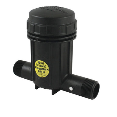 Rain Bird - PRB100 - 1-inch Pressure Regulating Basket Filter, 40psi