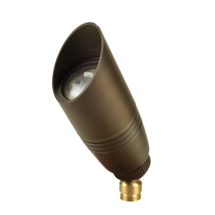 Unique - PROB-NL - Probe Up Light Brass Housing Weathered Brass No Lamp