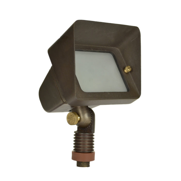 Unique - STAR-12-L527 - Starburst Wall Wash Brass Housing Weathered Brass 5W 2700K 40 Deg. LED