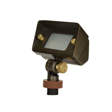 Unique - STEL-12-L2 - Stellar Wall Wash Brass Housing Weathered Brass 2.4W 3000K LED