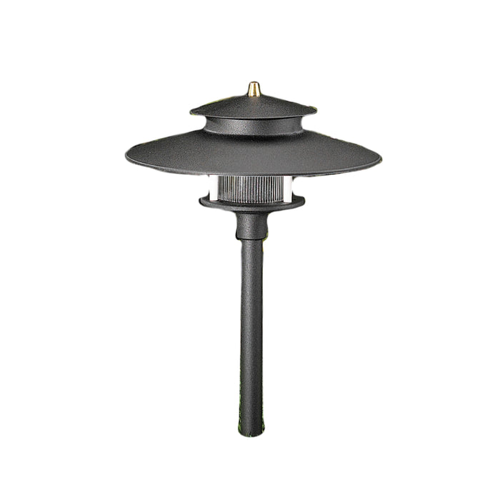 Vista - PR-9206-B-NL - Path Light Aluminum Black Finish (No Lamp)