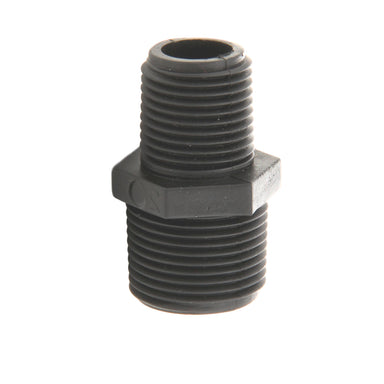 "Male Reducing Adapter - HMRA1/2X3/4 - Nipple 1/2"" X 3/4"" Threaded Both Ends"