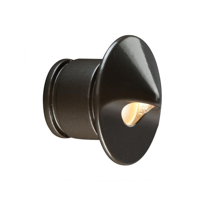 FX - PO1LEDRDAB - PO Wall Light, 1LED, Round, Antique Bronze