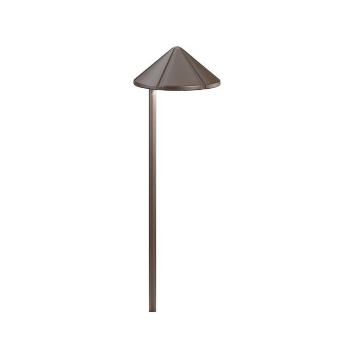 Kichler - 15815AZT30R - Path Light Aluminum Architectural Bronze Finish 4.3W 3000K LED