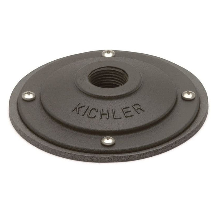 Kichler - 15601BKT - 12V Surface Mounting Flange, Textured Black