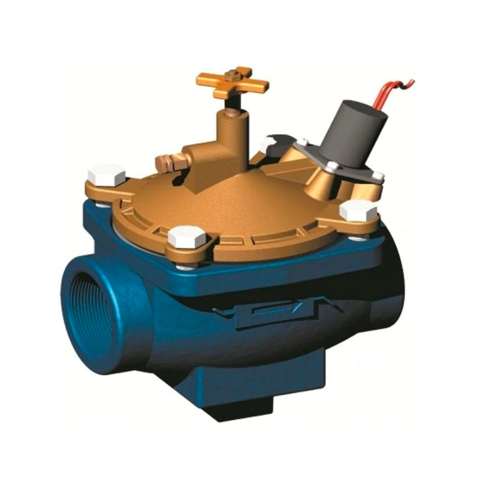 Griswold - 2000K-E - 2000 RCV Valve Normally Closed 1-1/2 in. FIPT Epoxy Coated Cast Iron and Bronze
