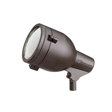 Kichler - 15241AZT - 120V Floodlight, Textured Architectural Bronze