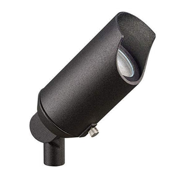 Kichler - 15384BKT - Kichler 12V Accent Textured Black Bi-Pin