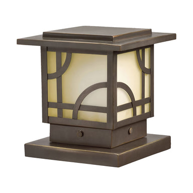 Kichler - 15474OZ - 12V Post Light, Olde Bronze