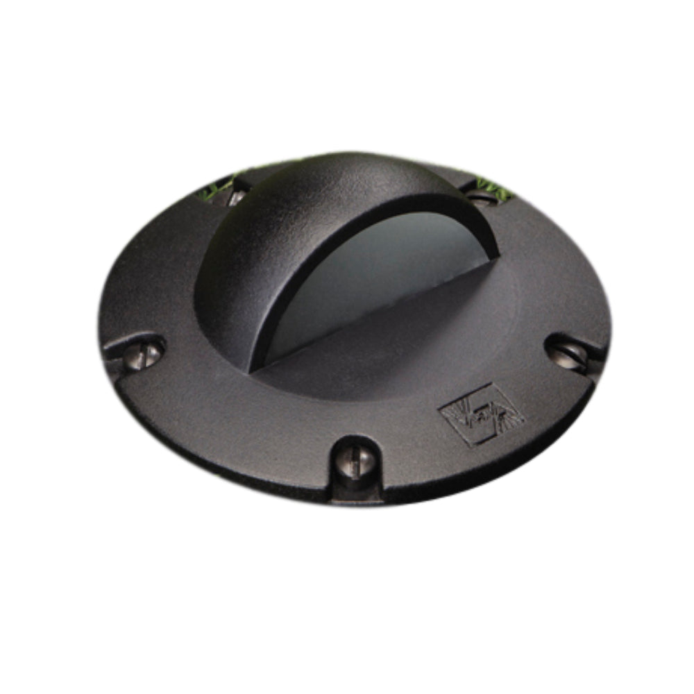 Vista - GW-5263-B-NL - Well Light Aluminum Housing Black (No Lamp)