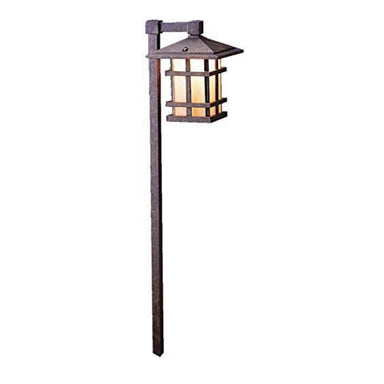 Kichler - 15232AGZ - 120V Cross Creek Path Light, Aged Bronze