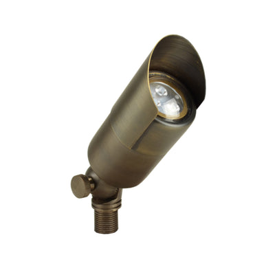 Unique - VALC-12-L527 - Valor Up Light Brass Housing Weathered Brass 5W 2700K 40 Deg. LED