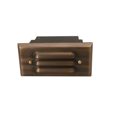 Unique - VO5L-NL - Voyager5 Louver Solid Brass Housing Weathered Brass No Lamp