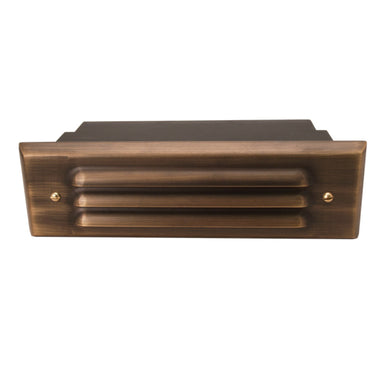Unique - VO8L-NL - Voyager8 Louver Solid Brass Housing Weathered Brass No Lamp