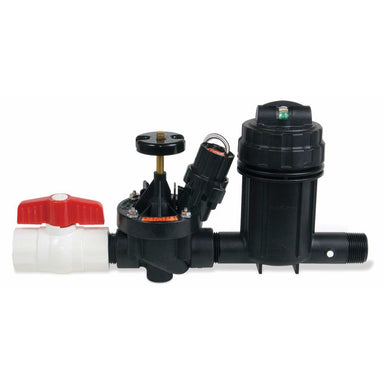 Rain Bird - XCZ-100-PRB-COM - XCZ Wide Flow Commercial Control Zone Kit with 1 in. Ball Valve, 1 in. PESB Valve and 1 in. 40 psi Basket Filter