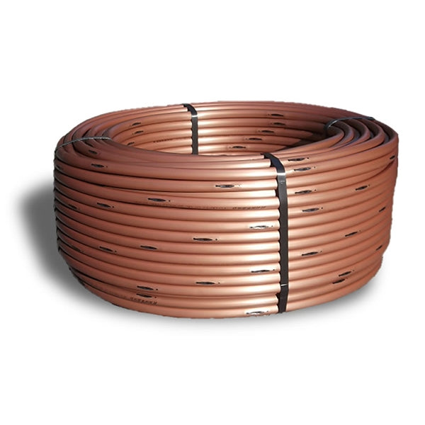 Rain Bird - XFS0612500 - 0.6 GPH Copper Shield Drip Tubing x 500 ft. x 12 in. Space