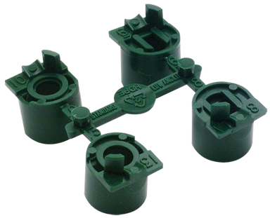 Hunter - 444800 -  PGP Ultra and I-20 High Flow Nozzles, Green Nozzle Rack