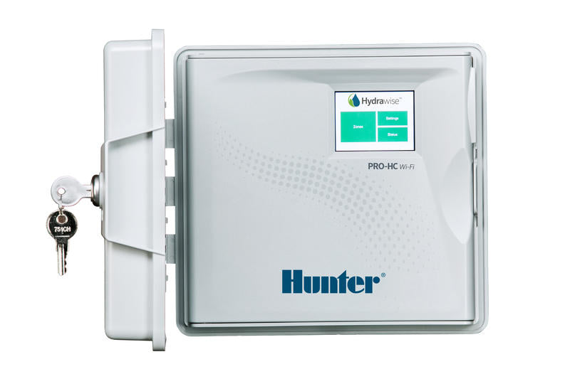 Hunter - PHC-1200 - Pro-HC Outdoor Wi-Fi Smart Controller with Hydrawise 12 Station