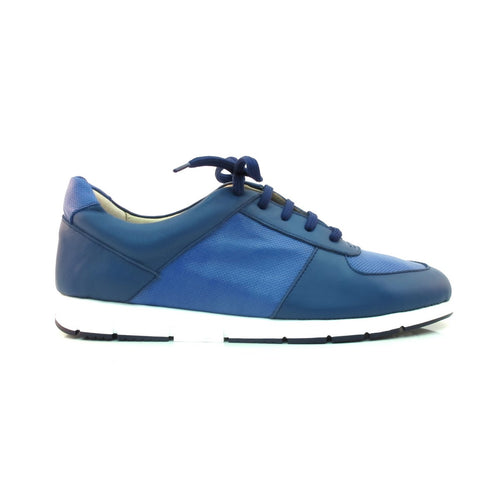 BLUE LEATHER SNEAKER