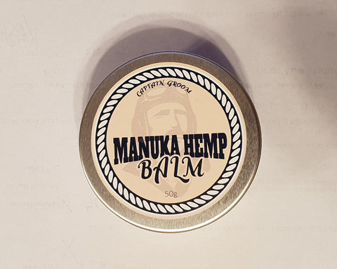 Captain Groom- Manuka Hemp Balm 50g