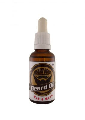 Beard Oil- Oak and Musk (30ml)