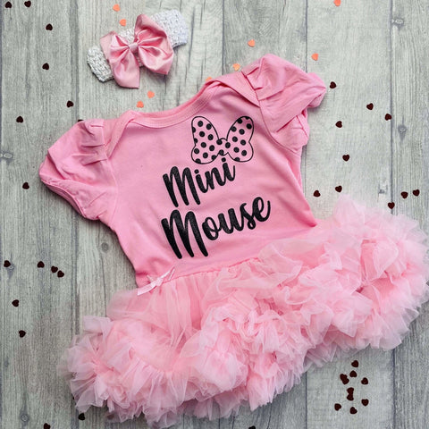 mini mouse tutu romper