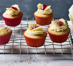 Image of butterfly cupcakes