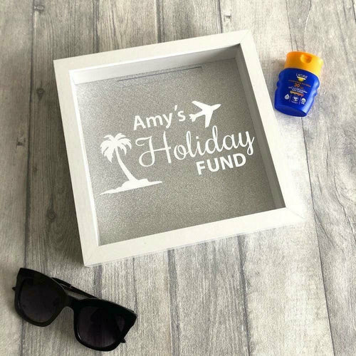 Personalised Name Holiday Fund Money box