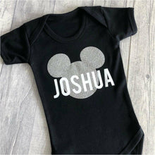 Who doesn't love anything Disney! Especially Mickey Mouse themed. Our new baby boy personalised Mickey Mouse romper is a gorgeous gift for a Disney enthusiast! Great to wear at any time. Super soft quality romper material to ensure comfort for your little one. Affordable pricing so we can make sure you're Saving money on clothes for your little one. use little secrets clothing to save money