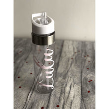 Personalised Name Reusable Water Gym Bottle