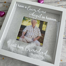 Personalised I have a Guardian Angel in Heaven I call them... Frame with Feathers