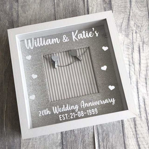 Personalised Wedding Anniversary Photo Frame
