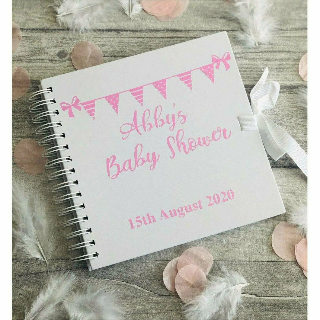 Personalised Baby Shower Pregnancy Scrapbook, Mum to Be Gift