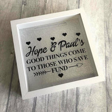 Personalised Good Things Come to Those Who Save Couple Money Fund Box Gift