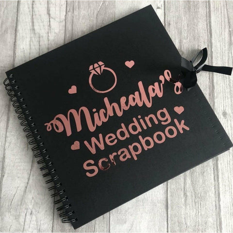 Personalised 'Wedding Scrapbook'
