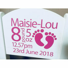 Personalised Girl or Boy Birthday/Christening/newborn gift wooden nursery chair