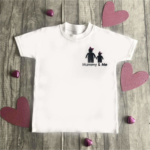 Mummy & Me Baby / Child Lego Men Romper / T-shirts