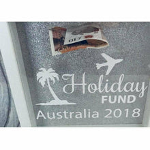 Personalised Destination Holiday Fund Money box
