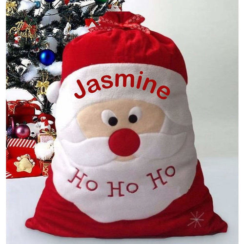 Personalised Christmas Santa Stocking Sack