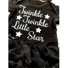 Glow in the Dark! Twinkle Twinkle Little Star tutu romper with matching headband