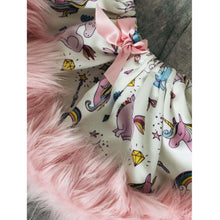 Boutique Princess Unicorn Fur Trim girls Skirt