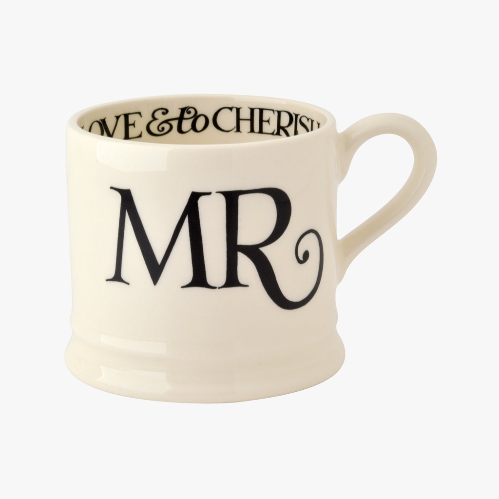 Seconds Black Toast Mr Small Mug