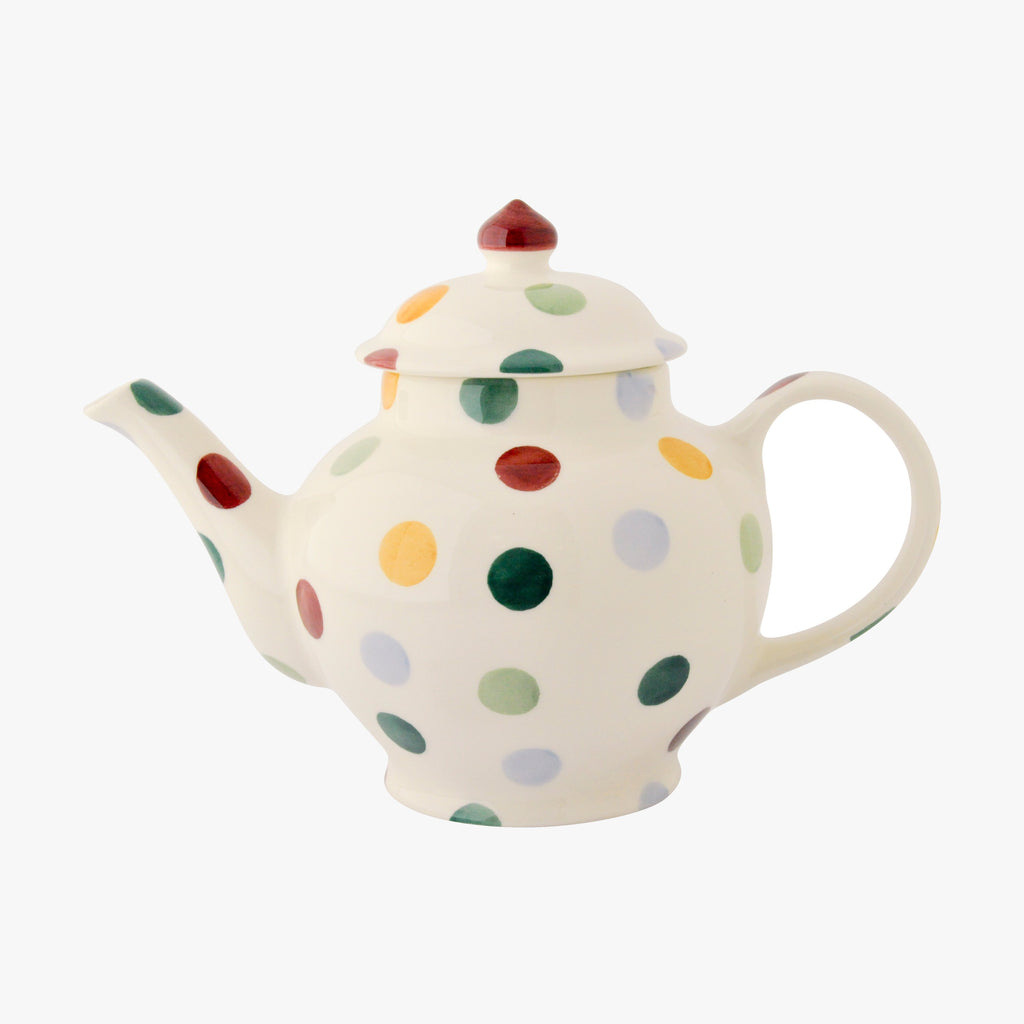 Seconds Polka Dot 2 Mug Teapot