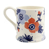 Red & Blue Anemone 1/2 Pint Mug