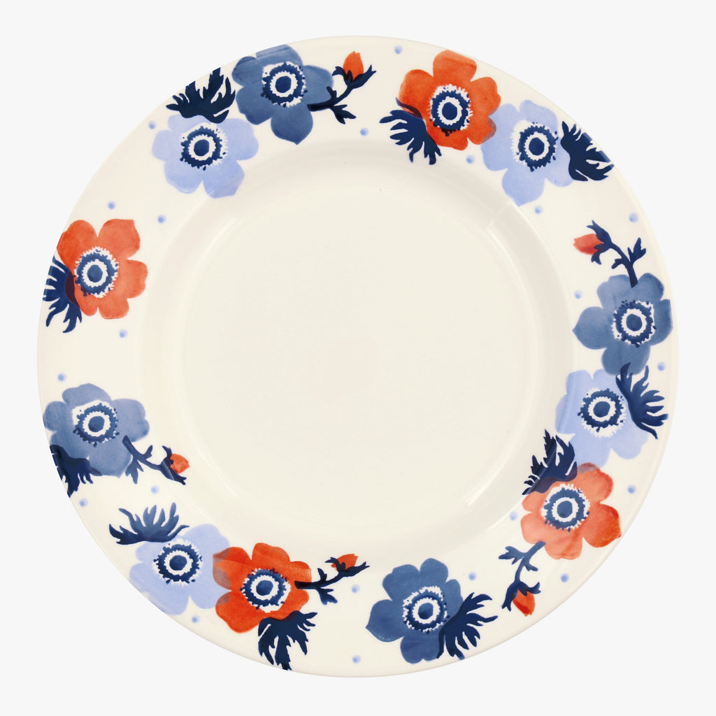 "Seconds Anemone 10 1/2"" Plate"
